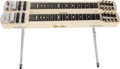 Musical Instruments:Lap Steel Guitars, 1957 Fender Stringmaster Blonde Double Neck Steel Console #-02404....