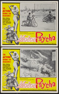 "Movie Posters:Exploitation, Motor Psycho! (Eve Productions, 1965). Lobby Cards (2) (11"" X 14"").Exploitation.. ... (Total: 2 Items)"