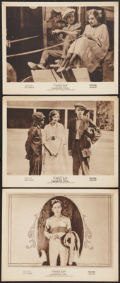 "Vagabond Luck (Fox, 1919). Lobby Cards (3) (11"" X 14""). Comedy. ... (Total: 3 Items)"