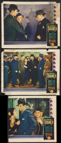"Movie Posters:Drama, Union Depot (First National, 1932). Lobby Cards (3) (11"" X 14""). Drama.. ... (Total: 3 Items)"