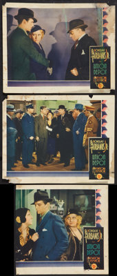 "Union Depot (First National, 1932). Lobby Cards (3) (11"" X 14""). Drama. ... (Total: 3 Items)"