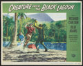 """Movie Posters:Horror, Creature from the Black Lagoon (Universal International, 1954). Lobby Card (10.75"""" X 13.5""""). Horror.. ..."""