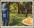 "Movie Posters:Science Fiction, Earth vs. the Flying Saucers (Columbia, 1956). Lobby Card (11"" X13.5""). Science Fiction.. ..."