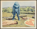 "Movie Posters:Science Fiction, Earth vs. the Flying Saucers (Columbia, 1956). Lobby Card (11"" X14""). Science Fiction.. ..."
