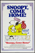 "Movie Posters:Animated, Snoopy, Come Home! (National General, 1972). One Sheet (27"" X 41"").Animated.. ..."