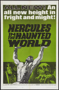 "Movie Posters:Adventure, Hercules in the Haunted World (Woolner Brothers, 1964). One Sheet(27"" X 41""). Adventure.. ..."
