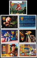 "Movie Posters:Animated, Toy Story 2 (Buena Vista, 1999). Lobby Cards (7) (11"" X 14""). Animated.. ... (Total: 7 Items)"