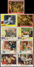 "Movie Posters:Comedy, Made in Paris Lot (MGM, 1966). Lobby Cards (9) (11"" X 14""). Comedy.. ... (Total: 9 Items)"