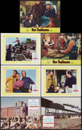 "Movie Posters:Western, The Professionals Lot (Columbia, 1966). Lobby Cards (13) (11"" X 14"") and One (11"" X 13.5""). Western.. ... (Total: 14 Items)"