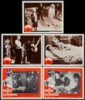 "Movie Posters:Horror, The Brides of Fu Manchu Lot (Seven Arts, 1966). Lobby Cards (5) (11"" X 14""). Horror.. ... (Total: 5 Items)"