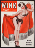 "Movie Posters:Sexploitation, Wink Magazine (Wink Inc., Oct., 1947). Magazine (66 Pages, 8.5"" X 11.5""). Sexploitation.. ..."