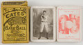 Baseball Collectibles:Others, Early 1900's The Cates Baseball National Card Game - Less Than Five Known!...