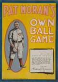 Baseball Collectibles:Others, 1919 Pat Moran's Own Ball Game....