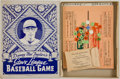 Baseball Collectibles:Others, 1928 Danny MacFayden's Stove League Baseball Game....