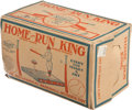 Baseball Collectibles:Others, Late 1930's Home Run King Mechanical Game....