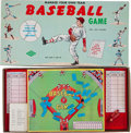 Baseball Collectibles:Others, Circa 1950's Manage Your Own Team Baseball Game Board Game....