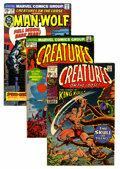 Bronze Age (1970-1979):Horror, Creatures on the Loose Group (Marvel, 1971-75) Condition: AverageVG.... (Total: 46 Comic Books)