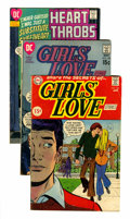 Silver Age (1956-1969):Romance, Comic Books - Assorted Silver Age Romance Comics Group (Various,1960s) Condition: Average GD.... (Total: 49 Comic Books)