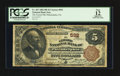 National Bank Notes:Pennsylvania, Philadelphia, PA - $5 1882 Brown Back Fr. 467 The Girard NB Ch. #592. ...