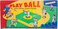 Baseball Collectibles:Others, Circa 1950's Plastomatic Play Ball Board Game....