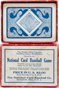 Autographs:Bats, 1923 National Card Baseball Game....