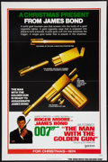 "Movie Posters:James Bond, The Man with the Golden Gun (United Artists, 1974). One Sheet (27"" X 41"") Flat Folded Advance. James Bond.. ..."