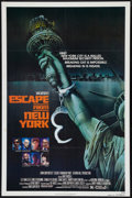 """Movie Posters:Science Fiction, Escape from New York (Avco Embassy, 1981). One Sheet (27"""" X 41"""") Advance. Science Fiction.. ..."""
