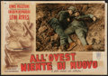 """Movie Posters:Academy Award Winners, All Quiet on the Western Front (Titanus, R-1950). ItalianPhotobusta (13.25"""" X 19""""). Academy Award Winners.. ..."""