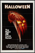 """Movie Posters:Horror, Halloween (Compass International, 1978). One Sheet (27"""" X 41"""") Blue Ratings Box Style. Horror.. ..."""