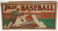Baseball Collectibles:Others, 1932 Play Baseball for Dad and Son....
