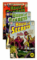 Silver Age (1956-1969):Mystery, House of Secrets Group (DC, 1958-66) Condition: Average FN-....(Total: 22 Comic Books)