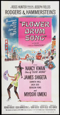 "Movie Posters:Musical, Flower Drum Song (Universal International, 1961). Three Sheet (41"" X 79""). Musical.. ..."