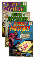 Silver Age (1956-1969):Horror, House of Mystery Group (DC, 1960-64) Condition: Average VG+....(Total: 10 Comic Books)