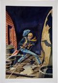 Original Comic Art:Covers, Warren Sattler Billy the Kid #114 Cover IllustrationOriginal Art (Charlton, 1975)....