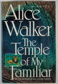 Books:First Editions, Alice Walker. The Temple of My Familiar. San Diego: HarcourtBrace Jovanovich, [1989]. First edition, first prin...
