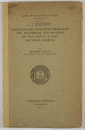 Books:First Editions, Theodore T. Belote. American and European Swords in theHistorical Collections of the United States National Museum....