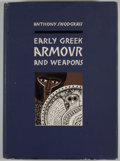 Books:First Editions, Anthony Snodgrass. Early Greek Armour and Weapons.Edinburgh: University Press, [1964]. First edition. Octavo.Publi...