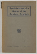 Books:First Editions, L. D. Young. Reminiscences of a Soldier of the OrphanBrigade. Paris: [n. p.], [n. d.]. First edition. Octavo.Publi...