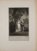 Antiques:Posters & Prints, Three Engraved Plates from Boydell's Shakespeare. Cheapside:J. & J. Boydell, ca. 1790's. General mild toning wi... (Total:3 Items)