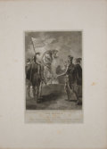 Antiques:Posters & Prints, Two Engraved Plates from Boydell's Shakespeare. Cheapside: J. & J. Boydell, ca. 1790's. General mild toning with... (Total: 2 Items)