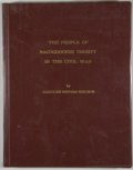 Books:First Editions, Carolyn Reeves Ericson. The People of Nacogdoches County in theCivil War. [Lufkin]: [Pineywood Printing], [1980...