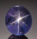 Gems:Cabochons, STAR SAPPHIRE: 6-RAY STAR - 12.58 CT. ...