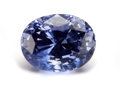 Gems:Faceted, RARE GEMSTONE: UNTREATED BLUE-VIOLET SAPPHIRE - 6.94 CT. ...