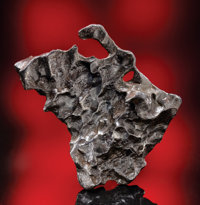 SIKHOTE-ALIN - METEORITE WITH NATURAL HOLE