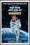 "Movie Posters:James Bond, Moonraker (United Artists, 1979). One Sheet (27"" X 41"") Advance Style A. James Bond.. ..."