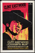 "Movie Posters:Crime, Coogan's Bluff (Universal, 1968). One Sheet (27"" X 41"") andPressbook (10 Pages, 8.75"" X 13.75""). Crime.. ... (Total: 2 Items)"
