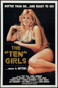 """Movie Posters:Adult, The Ten Girls Lot (SRC Films, 1980). One Sheets (3) (27"""" X 41""""). Adult.. ... (Total: 3 Items)"""