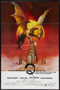 """Movie Posters:Horror, Q (United Film Distribution, 1982). One Sheet (27"""" X 41""""). Horror....."""