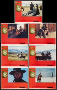 "High Plains Drifter (Universal, 1973). Lobby Cards (7) (11"" X 14""). Western. ... (Total: 7 Items)"