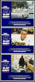 """Movie Posters:Sports, Slap Shot (Universal, 1977). Lobby Cards (3) (11"""" X 14""""). Sports.. ... (Total: 3 Items)"""